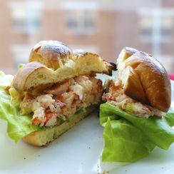 Lobster Salad Sandwiches