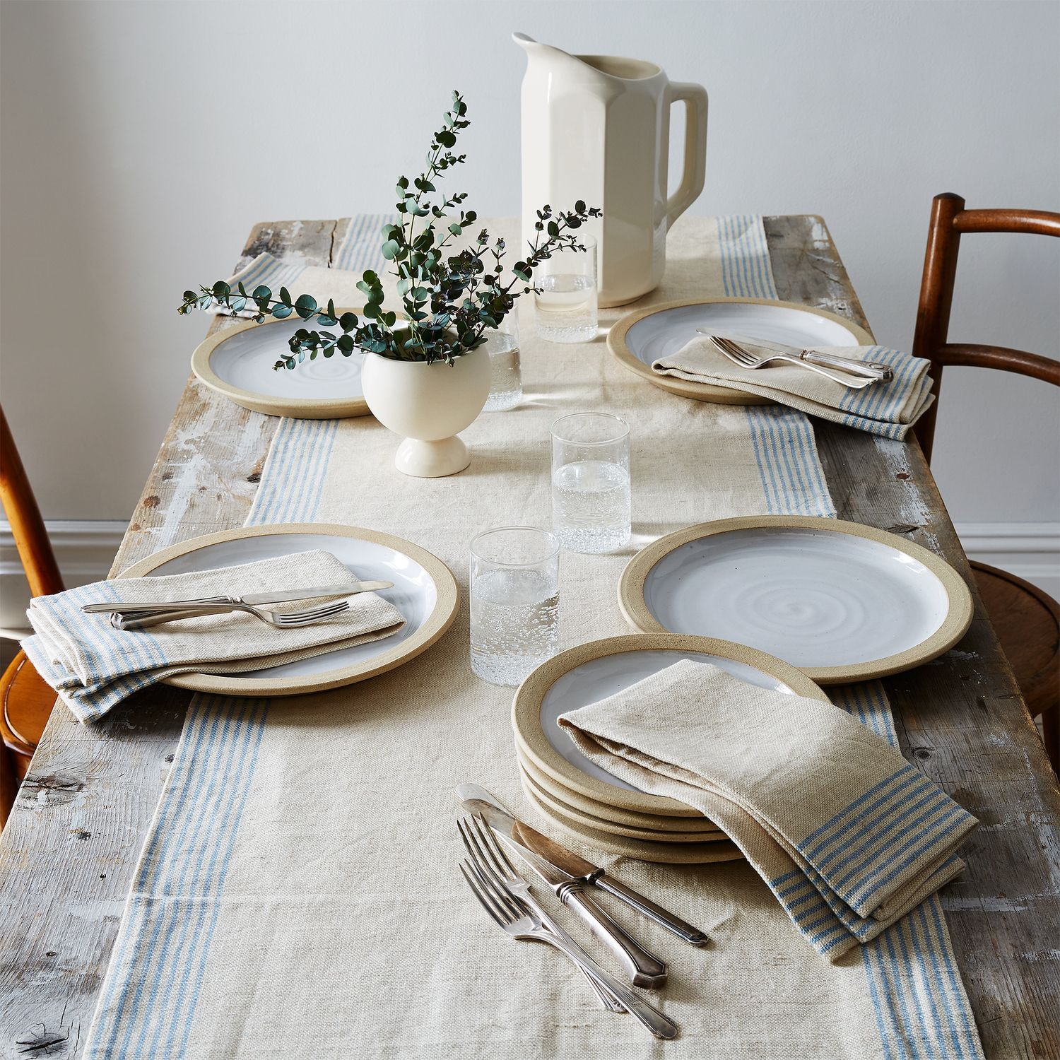 Agrarian Striped Linen Napkins Set Of 4 On Food52
