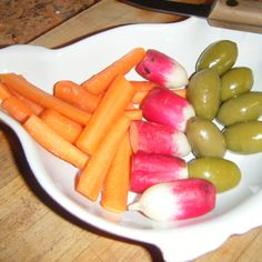 The Mo Betta' Carotene Relish Tray