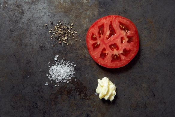 Brown Butter Tomatoes Ingredients