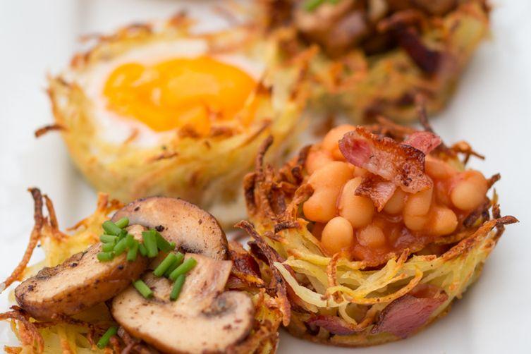 Hash Brown Breakfast Bakes
