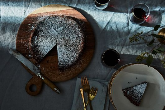 Elizabeth David's Chocolate Cake