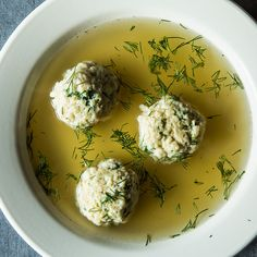 Joan Nathan's Chosen Matzo Ball Soup