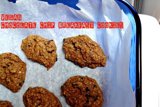 Vegan Chocolate Chip Breakfast Cookies