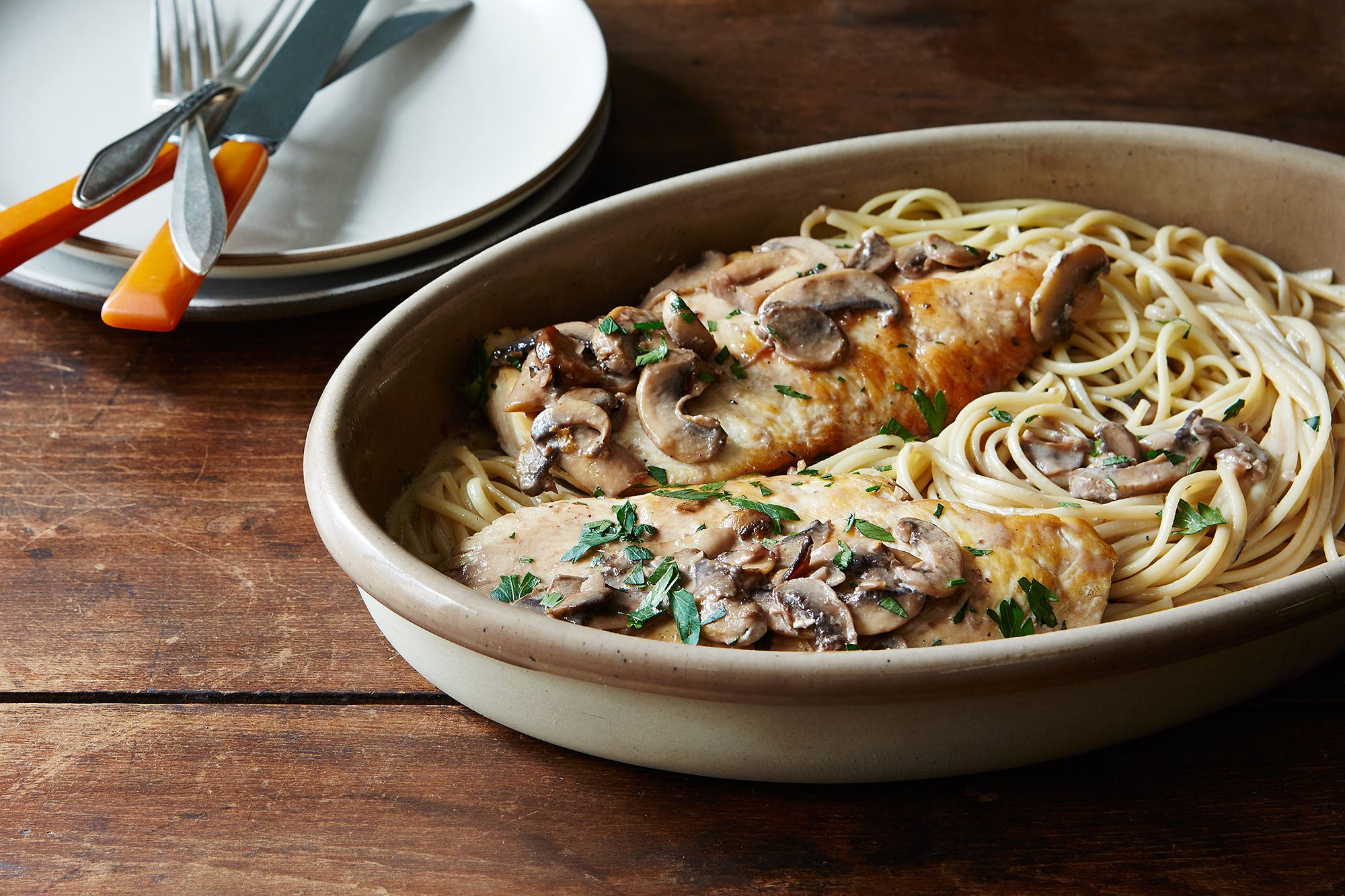 Easy, Weeknight Chicken Marsala Recipe