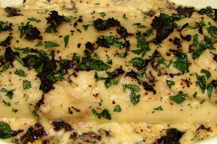 Creamy Cheese Herbed Salmon Cannelloni