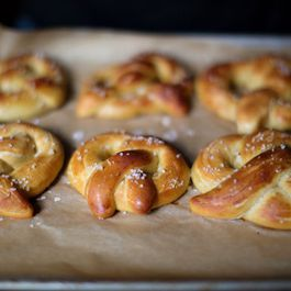 Baking with Children: Soft Pretzels