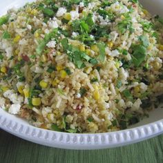 Summer Corn Salad with Toasted Grains