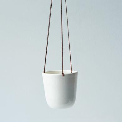 Mini Ceramic Hanging Planter