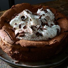 Flourless chocolate cake by Diana R Cramer