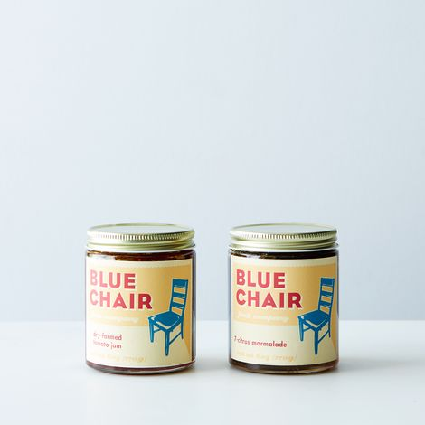 Blue Chair Fruit Dry-Farmed Tomato Jam + 7-Citrus Marmalade