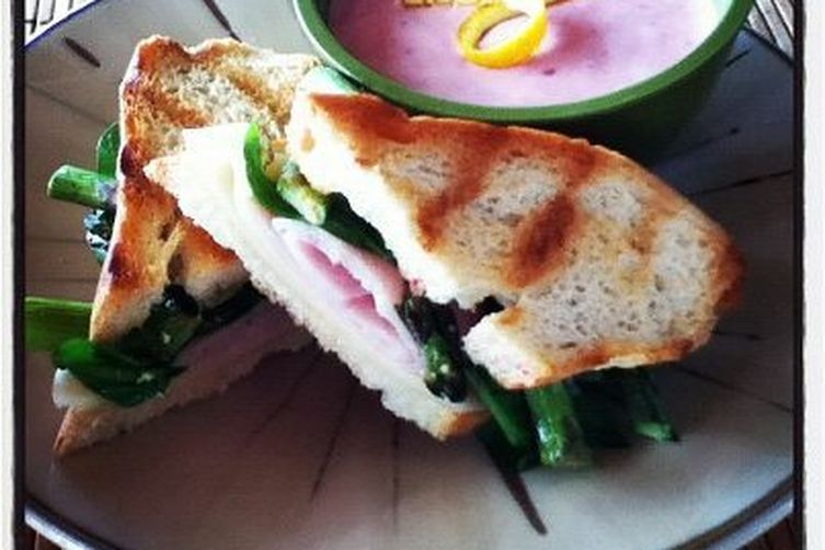 Grilled Asparagus and Prosciutto Panini Recipe on Food52