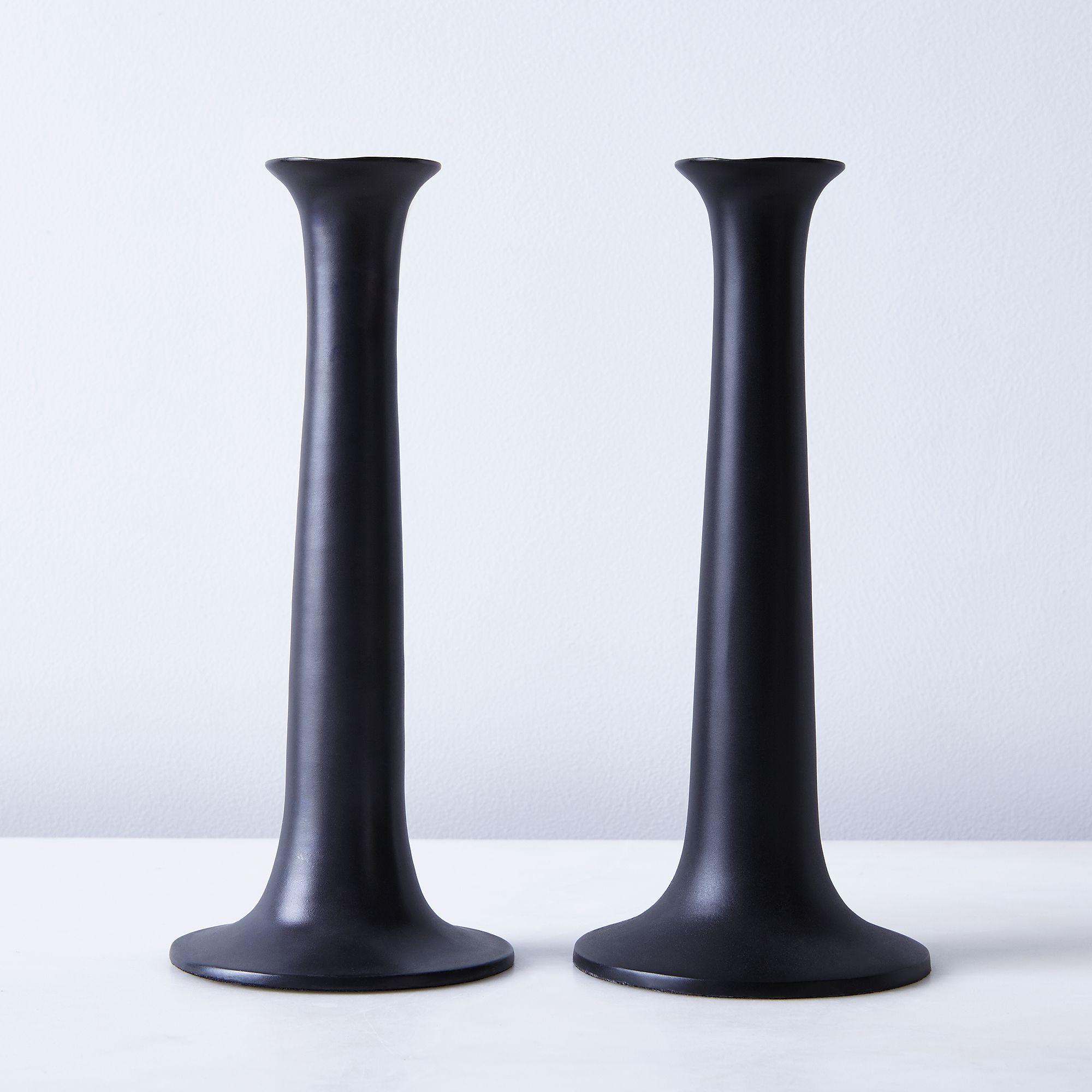 Fa442d15 f94e 4690 9b43 b6e45416d128  2016 1011 hawkins new york black candlesticks large set of 2 silo rocky luten 0786