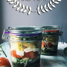 Pasta Salad in a Jar