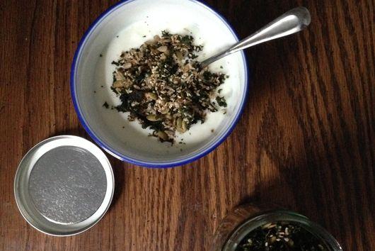 Seedy Kale Granola
