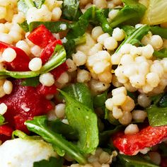 Zesty Mediterranean Couscous Salad
