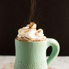 Coconut Kahlua Hot Chocolate