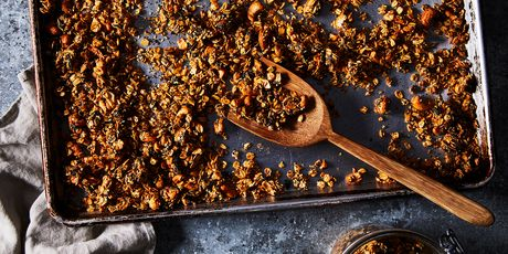 Salty, savory, spicy oat clusters for just about everything.