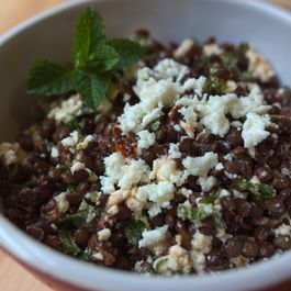 Springtime or Anytime Lentil Salad