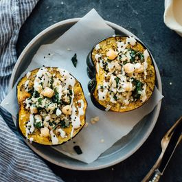 4b1dc2a6 f181 4511 a23c 7a96f5314757  stuffed za atar roasted acorn squash dolly and oatmeal