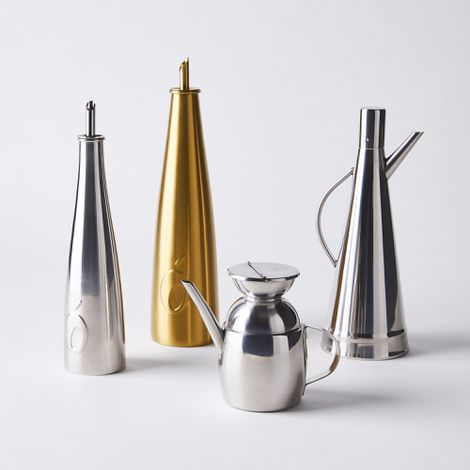 Stainless Steel Olive Oil Cruet