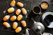 Get Your Eggnog Fix By Way of Fluffy, Delicate Madeleines