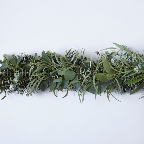 Fresh Mixed Eucalyptus Garland