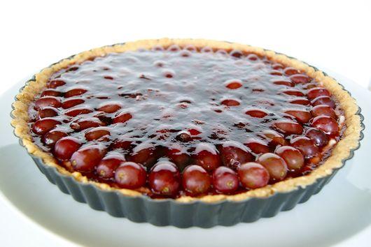 Red Wine Grape Tart