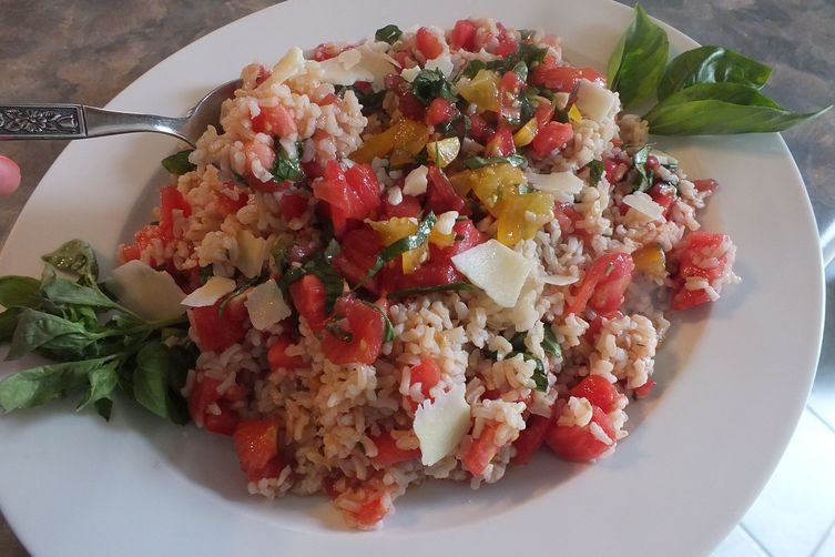 Bruschetta Brown Rice Contorno