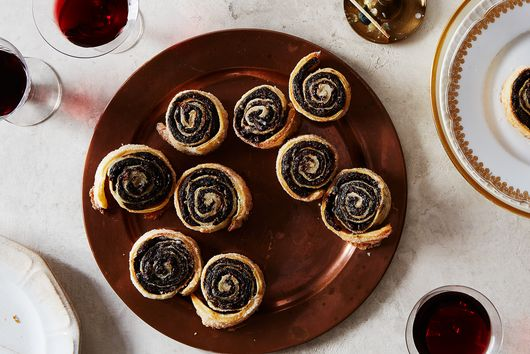 Prune & Chocolate Rugelach