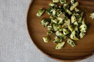 Artichokes with Parsley and Preserved Lemon Pesto