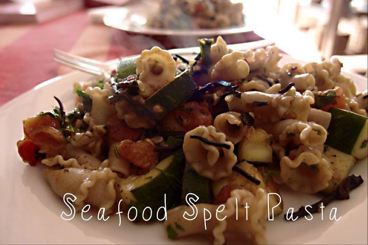 Vegan Seafood Spelt Pasta