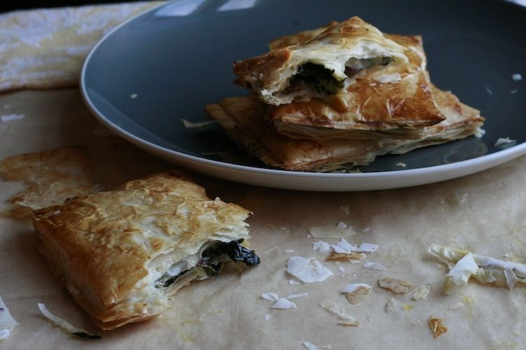 Kale, Potato and Cheese Pop Tarts