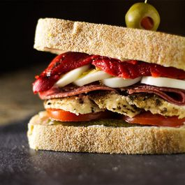 Chicken Antipasti Sandwich