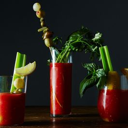 The Best Way to Garnish a Bloody Mary
