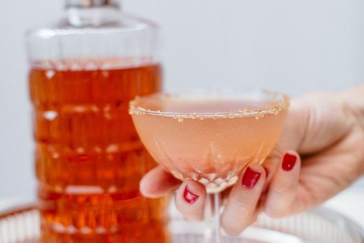 Fig and Bourbon Cocktail