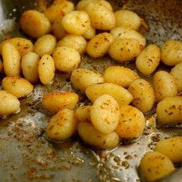 Three Cheese Garlic Gnocchi