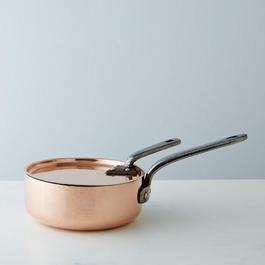 Vintage Copper Saute Pan, Late 19th Century