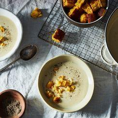 John Fleer's Buttermilk Cornbread Soup