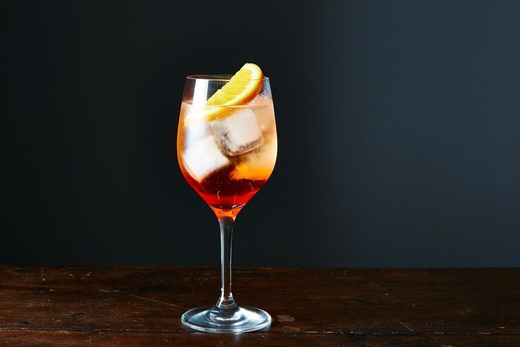 I also never want to *not* be drinking a spritz.