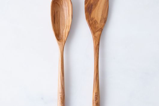 Staub Olive Wood Spoon & Spatula Set
