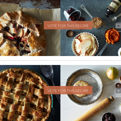 Finalists: Your Best Thanksgiving Pie