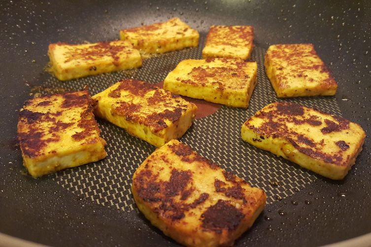 Stovetop Paneer Tikka ( Pan Fried Cottage Cheese)