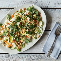 Dinner Tonight: Vietnamese Rice Noodle Salad