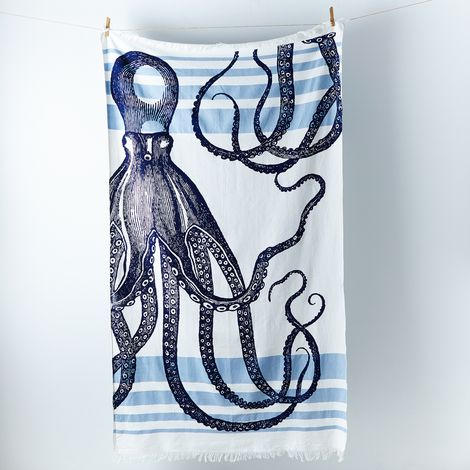Limited Edition Octopus Banya Towel by thomaspaul