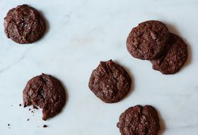 Bittersweet Chocolate, Orange and Cardamom Cookies