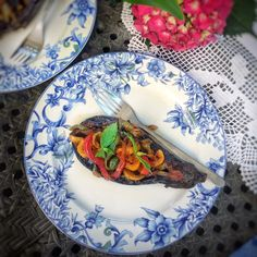 İmam Bayıldı ( Stuffed Eggplant with Peppers & Onions)