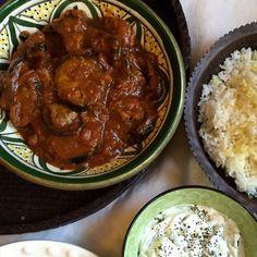 Lamb and Eggplant Stew (Khoresht Bademjan)