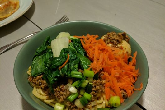 tofu dan dan mian