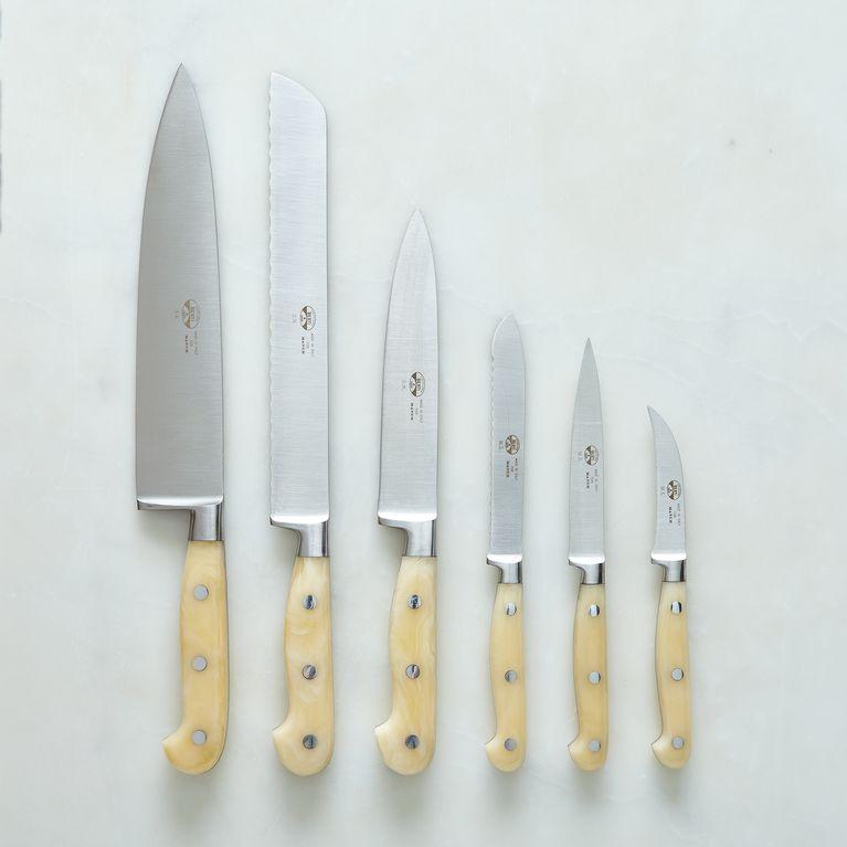 Berti White-Handled Italian Kitchen Knives On Food52